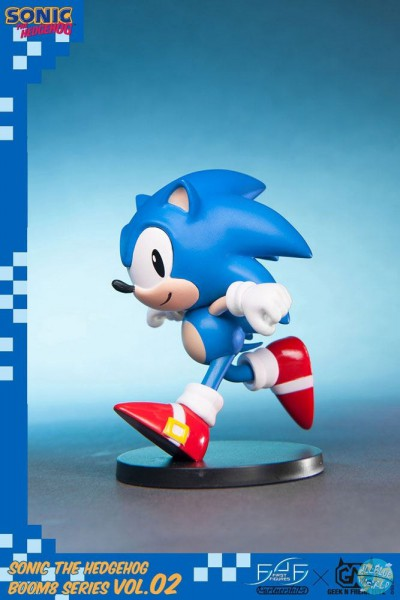 Sonic The Hedgehog - Sonic Figur / BOOM8 Series Vol. 02: First 4 Figures