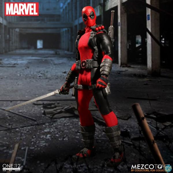 Marvel Universe - Deadpool Actionfigur: Mezco