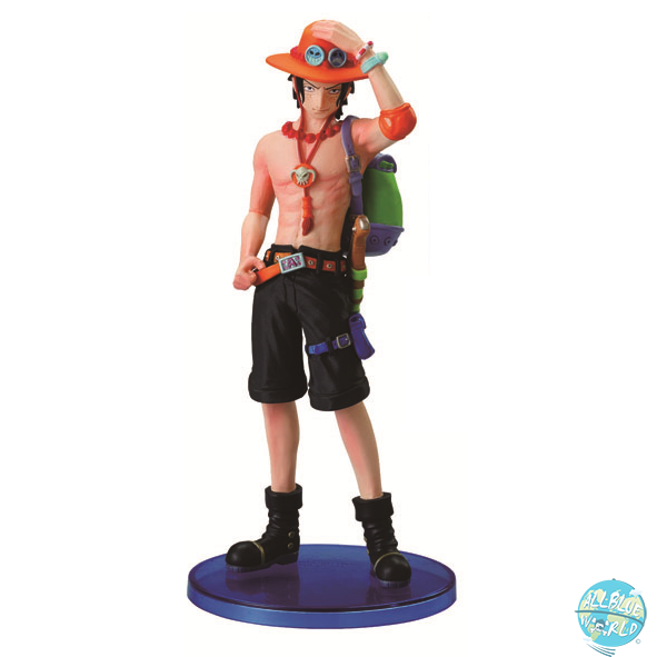 One Piece Ace Figur - Styling Star Hero: Bandai