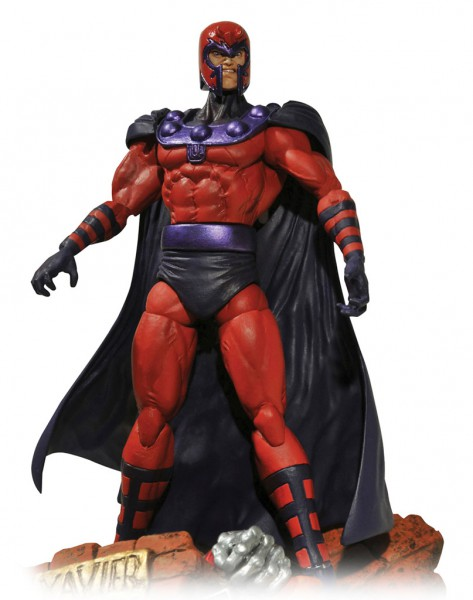 Marvel Select - Magneto Actionfigur : Diamond Select