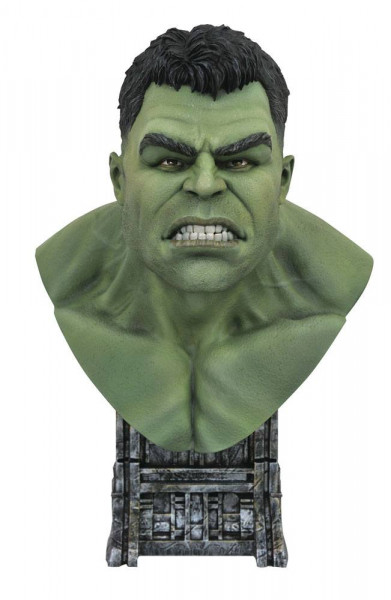 Thor: Tag der Entscheidung - Hulk Büste / Legends in 3D: Diamond Select
