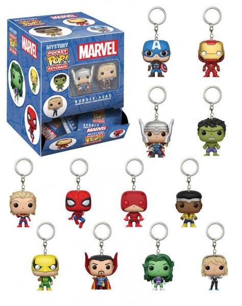 Marvel Comics - Schlüsselanhänger - Pocket POP!: Funko