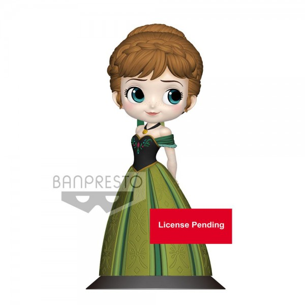Disney - Anna Figur / Q Posket - Coronation Style A - Normal Color Version: Banpresto