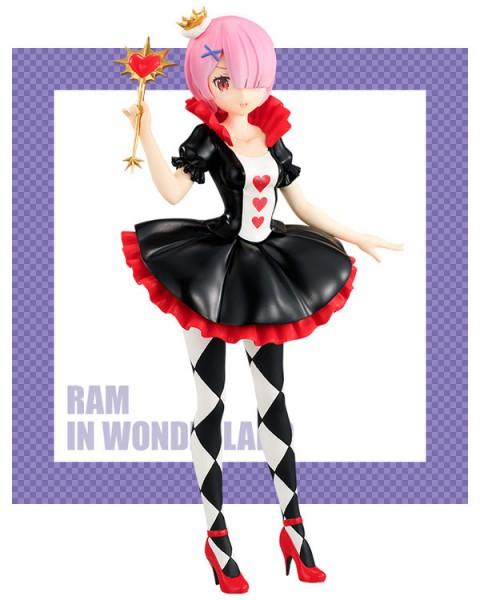 Re:Zero - Ram Figur / SSS In Wonderland: Furyu