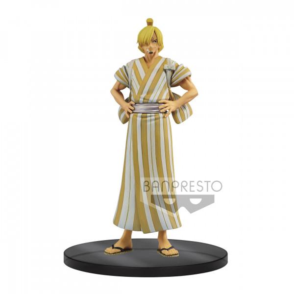 One Piece - Sanji Figur / DXF Grandline Men - Wanokun: Banpresto