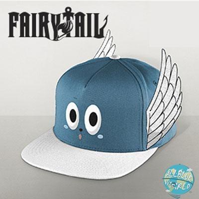 Fairy Tail - Happy Cap - Snap Back: PCM