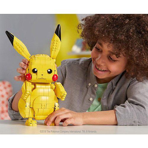 Pokémon - Jumbo Pikachu Bauset / Mega Construx: Mattel