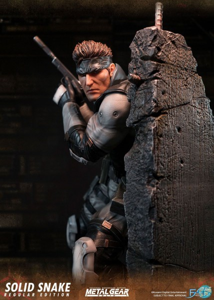 Metal Gear Solid - Solid Snake Statue: First 4 Figures