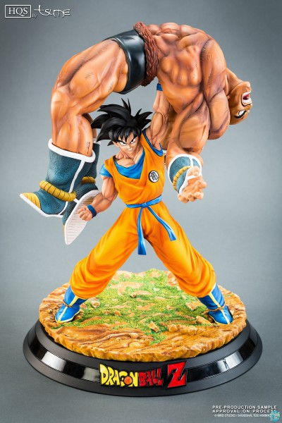 Dragonball Z - Goku vs Nappa HQS / The Quiet Wrath of Son Goku: Tsume