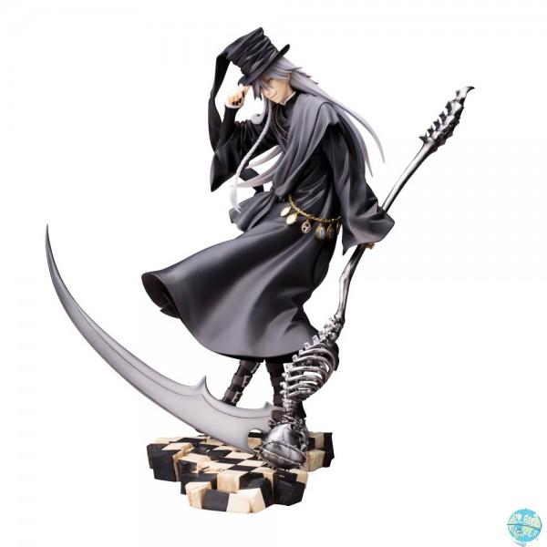 Black Butler Book of Circus Undertaker Statue - ARTFXJ [Neuauflage]: Kotobukiya