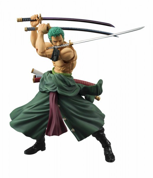 One Piece - Lorenor Zorro Actionfigur - Variable Action Heroes: MegaHouse