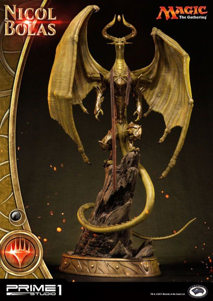 Magic The Gathering - Nicol Bolas Statue / Premium Masterline: Prime 1 Studio