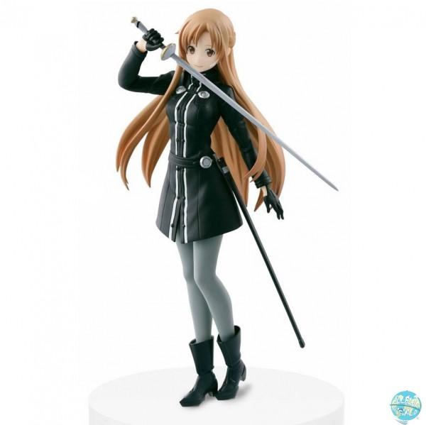Sword Art Online - Ordinal Scale - Asuna Figur - DXF / Black Swordswoman: Banpresto