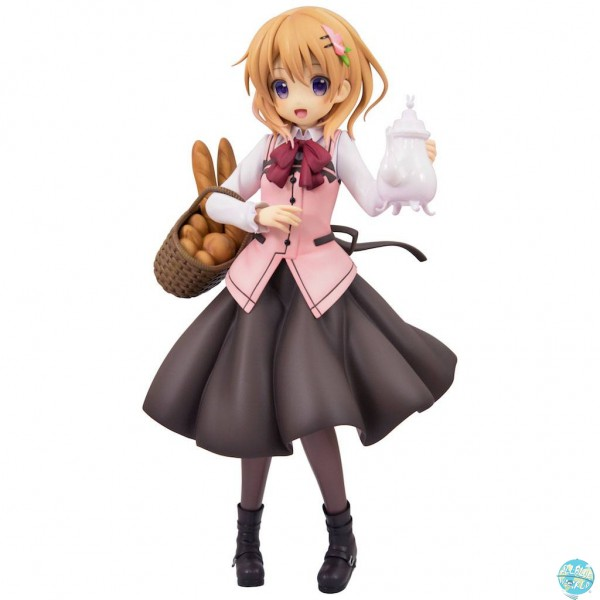 Is the Order a Rabbit - Cocoa Statue - Cafe Style: Plum