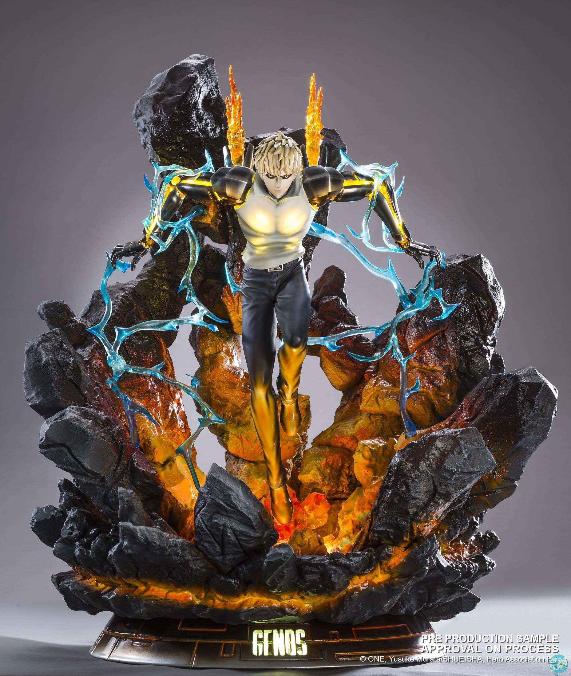 One Punch Man Genos Statue Allblue World Anime Figuren Tsume Art Madara Uchiha Shop Jetzt Hier Online Bestellen