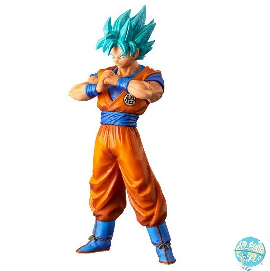 Dragonball Super - SSGSS Goku Figur - DXF / The Super Warriors Vol. 4: Banpresto