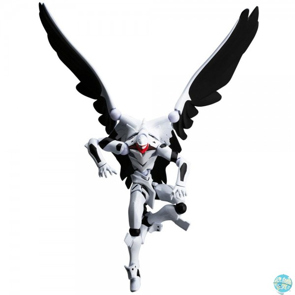 Evangelion Evolution - Eva Mass Production Model Actionfigur - EV-009 Revoltech / Comic Version: Uni