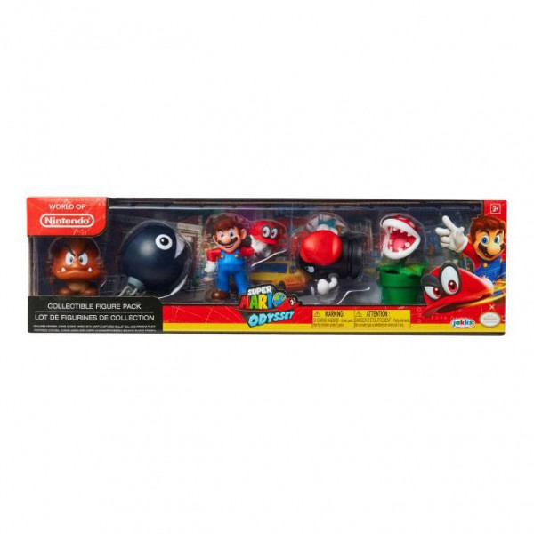 World of Nintendo - Super Mario Odyssey Minifiguren 5er-Pack: Jakks Pacific