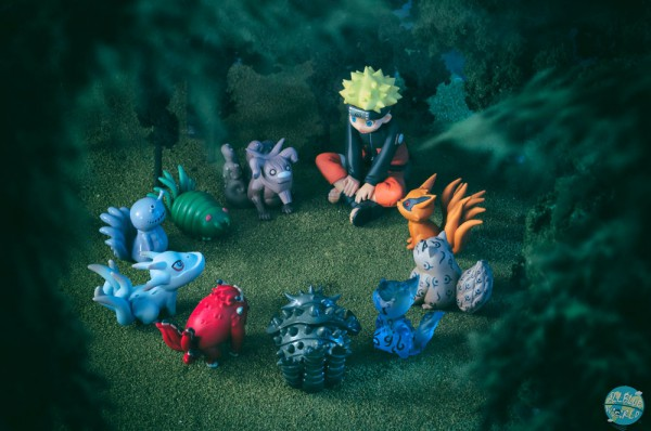 Naruto Shippuden - Naruto Minifiguren - 11er-Pack Naruto & Bijuu: MegaHouse
