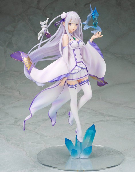 Re:ZERO -Starting Life in Another World - Emilia Statue: MegaHouse