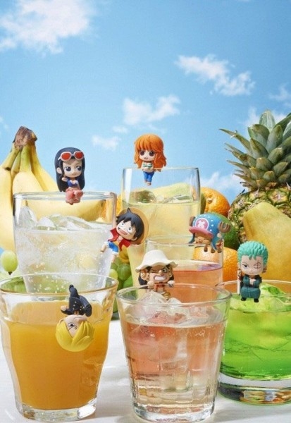One Piece - Minifiguren / Ochatomo Serie 8er-Set / Pirates Teatime: MegaHouse