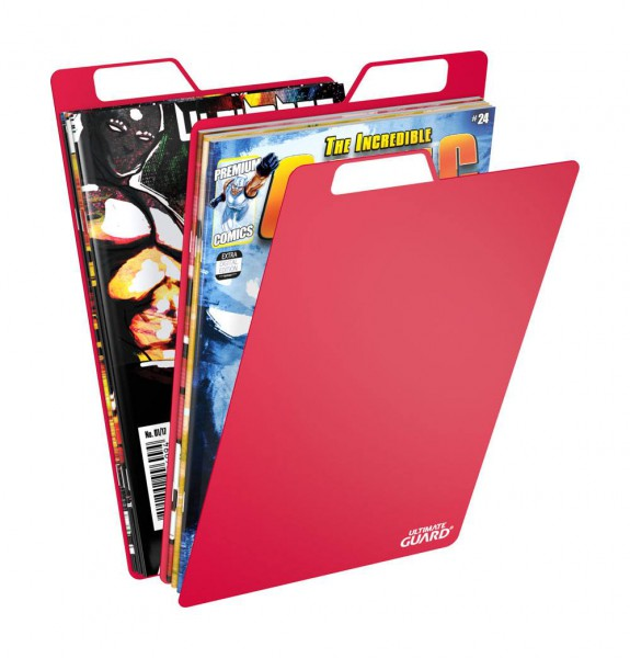 Ultimate Guard - Premium Comic Book Titeltrenner [25] / Rot
