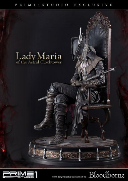 Bloodborne The Old Hunters - Lady Maria of the Astral Clocktower Statue / Exclusive: Prime 1 Studio