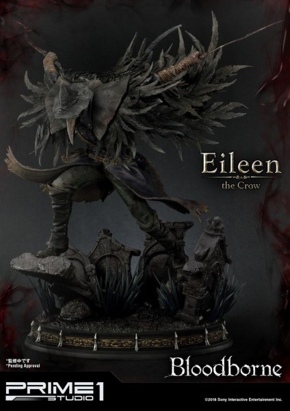 Bloodborne The Old Hunters - Eileen The Crow Statue: Prime 1 Studio
