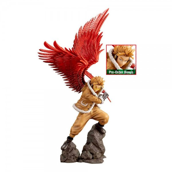 My Hero Academia - Hawks Statue / ARTFXJ - Bonus Edition: Kotobukiya