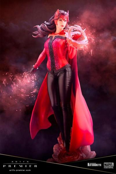 Marvel Universe - Scarlet Witch Statue / ARTFX Premier: Kotobukiya