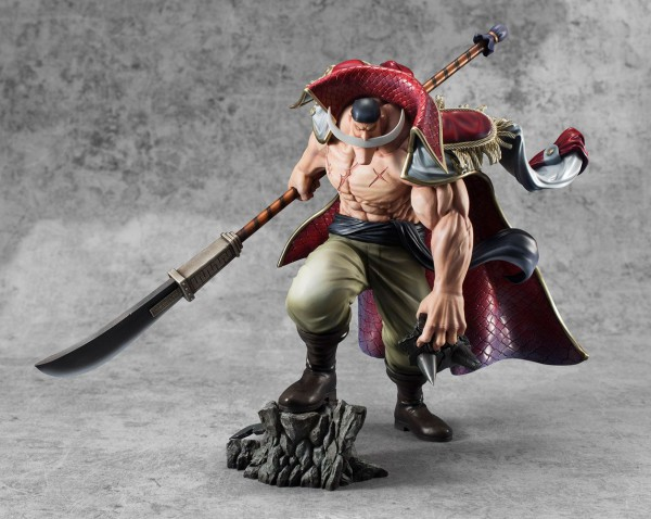 One Piece - Edward Newgate / Whitebeard Statue - Excellent Model P.O.P / Neo Maximum: MegaHouse