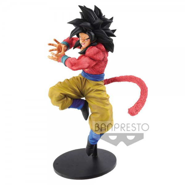 Dragon Ball GT - SSJ4 Son Goku Figur / x10 KamehameHa Version: Banpresto