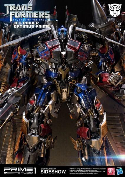 Transformers Die Rache - Jetpower Optimus Prime Statue: Prime 1 Studio
