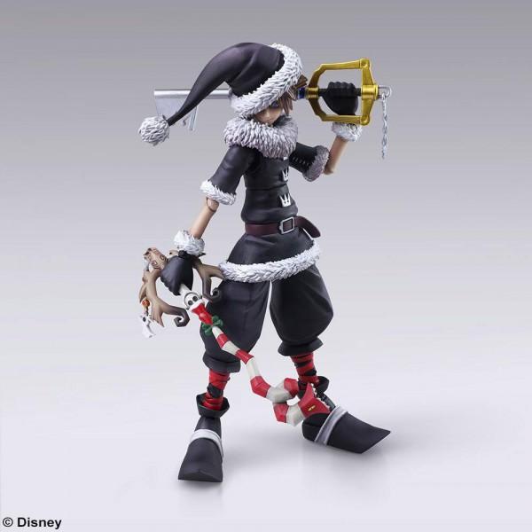 Kingdom Hearts II - Sora Actionfigur / Play Arts Kai / Christmas Town Version: Square Enix