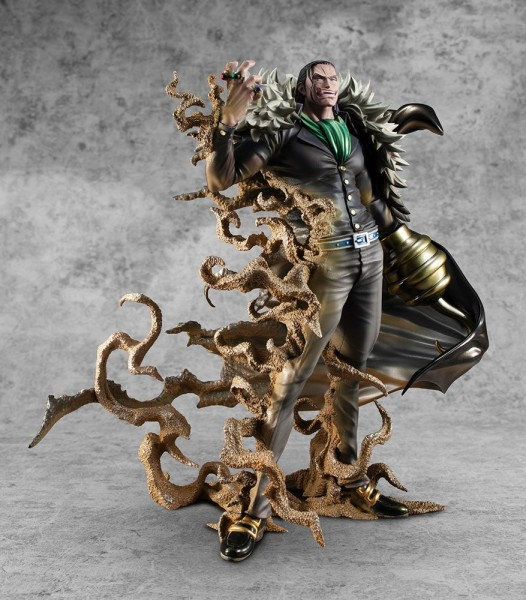 One Piece - Sir Crocodile Statue / MAS Maximum: MegaHouse