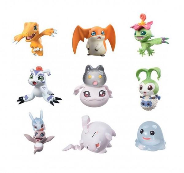 Digimon Adventure - Figuren-Set / Digicolle Data 1 (Neuauflage): MegaHouse