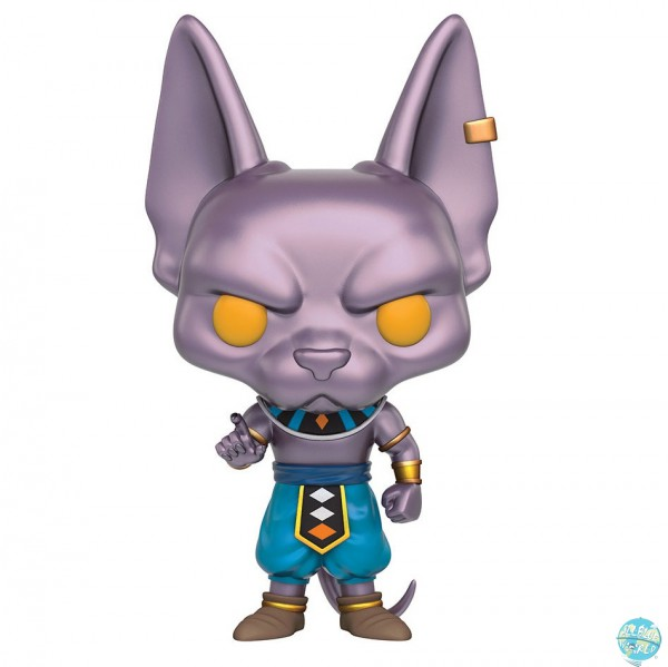 Dragonball - Beerus Figur - POP! / Metallic Edition: Funko