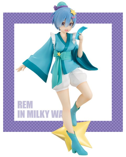 Re:ZERO -Starting Life in Another World - Rem Figur / in Milky Way Version: Furyu