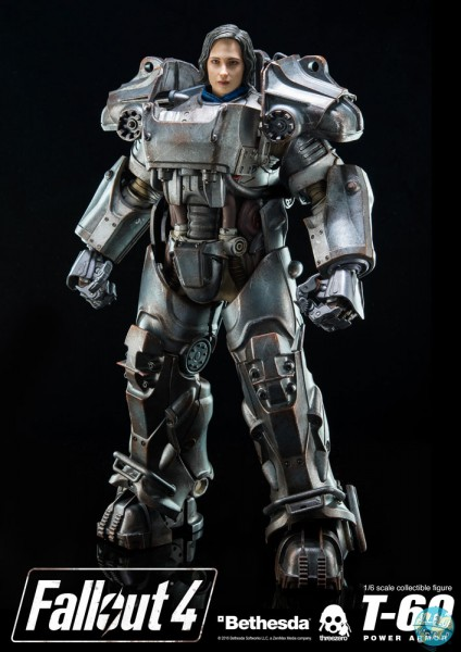 Fallout 4 - T-60 Power Armor Actionfigur: Threezero