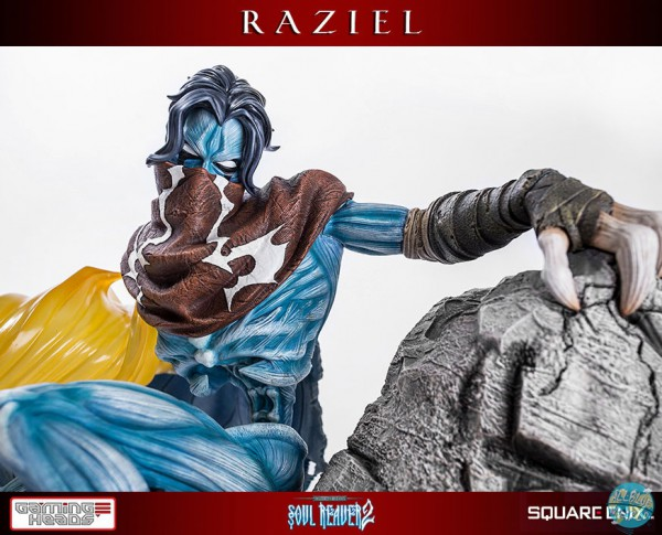 The Legacy of Kain - Soul Reaver - Raziel Statue: Gaming Heads