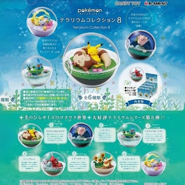 Pokemon - 1x Terrarium Figur / Blindbox - Collection Vol.8: Re-Ment