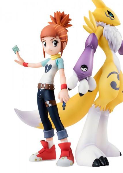 Digimon Tamers - Renamon & Rika Statue - G.E.M. Serie: MegaHouse