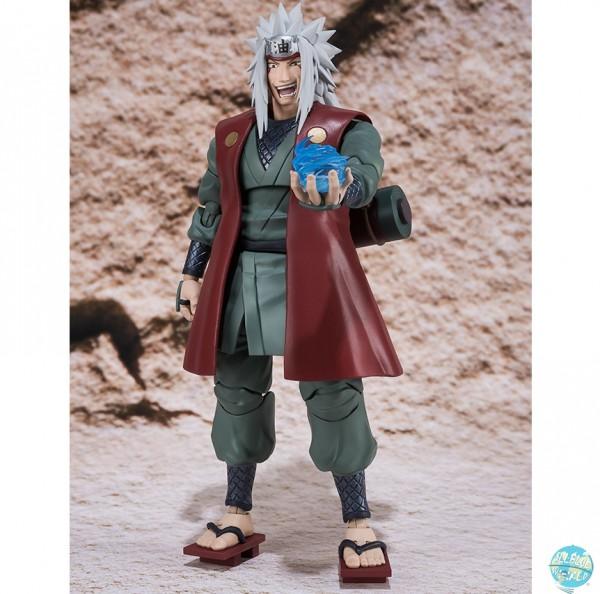 Naruto Shippuuden - Jiraiya Actionfigur - S.H.Figuarts: Bandai