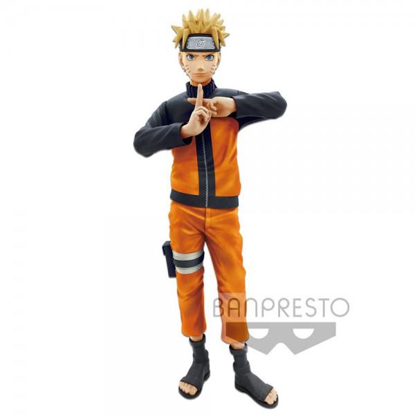 Naruto Shippuuden - Naruto Figur - Shinobi Relations / Grandista nero: Banpresto
