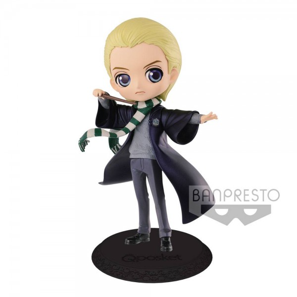 Disney - Draco Malfoy Figur / Q Posket - Pearl Color Version: Banpresto
