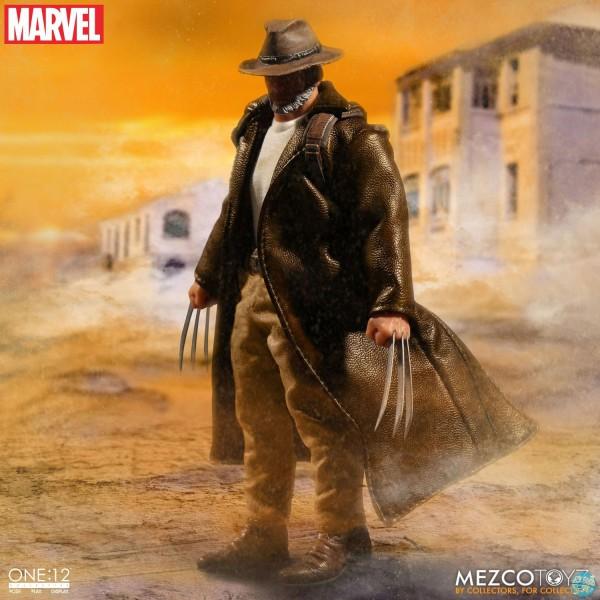 Marvel Universe - Logan Actionfigur: Mezco
