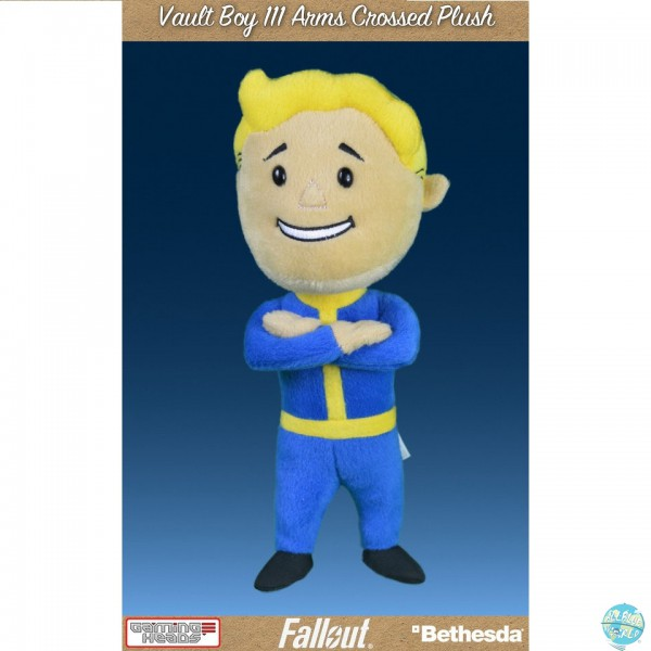 Fallout 4 - Vault Boy Plüschfigur - 111 Arms Crossed: Gaming Heads