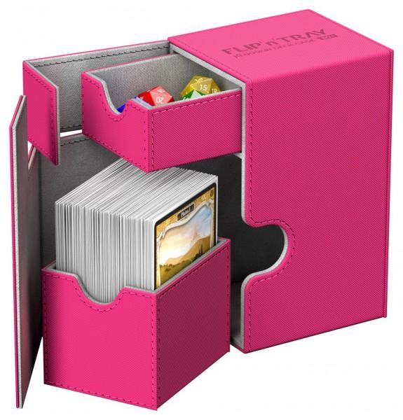 Ultimate Guard - Flip 'n' Tray Deck Case 80+ / XenoSkin Pink