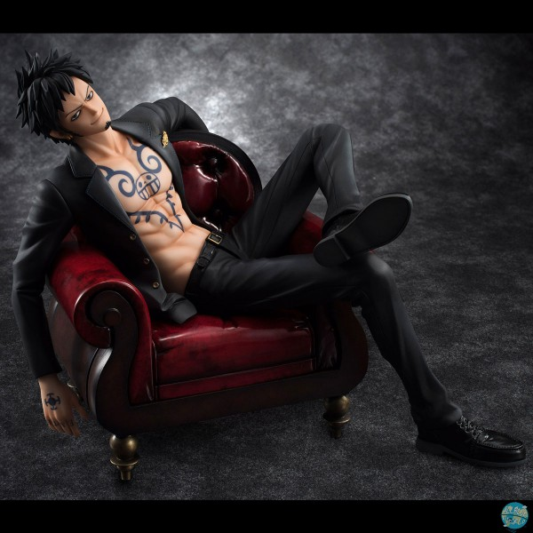 One Piece - Trafalgar Law Statue - Excellent Model P.O.P. / SOC: MegaHouse