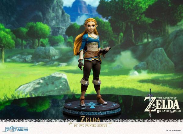 The Legend of Zelda Breath of the Wild - Zelda Statue: First 4 Figures